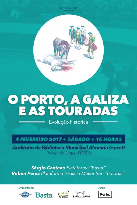 """Palestra """"O Porto, a Galiza e as touradas"""""""