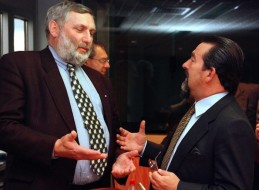 Franz Fischler e Joao de Deus Pinheiro.